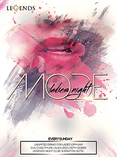 MODE Ladies Night @ Legends Night Club