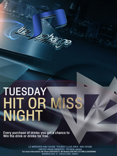 Tuesday HIT or MISS Night @ The Exchange