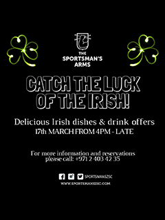 Catch the luck of the Irish @ The Sportsman's Arms