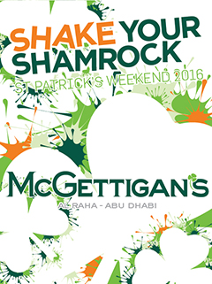 St Patrick's Weekend 2016 at McGettigan's AUH