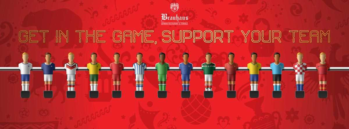 Get in the game and support your team @ Beach Rotana