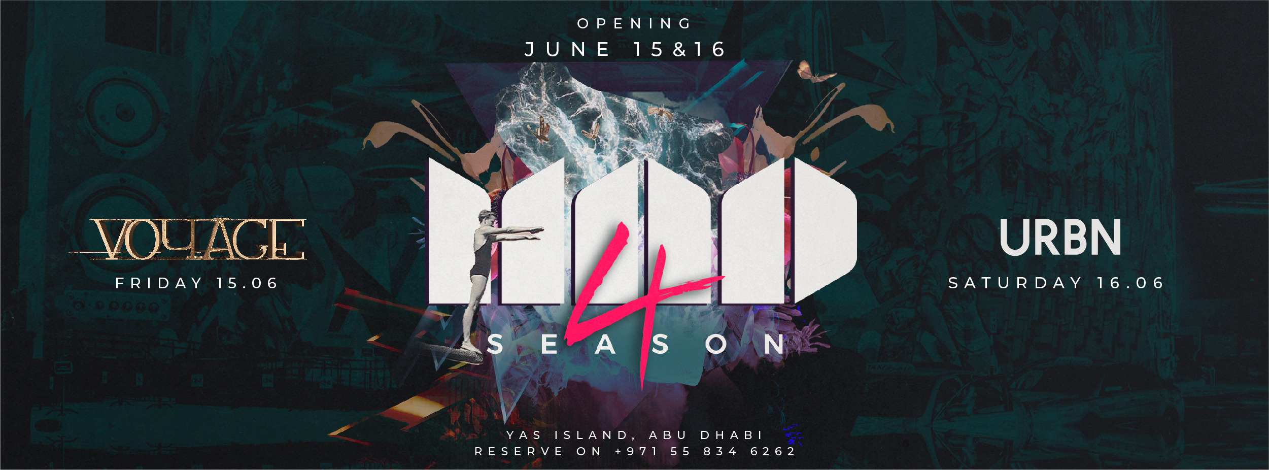 URBN Season Launch @ MAD on Yas Island
