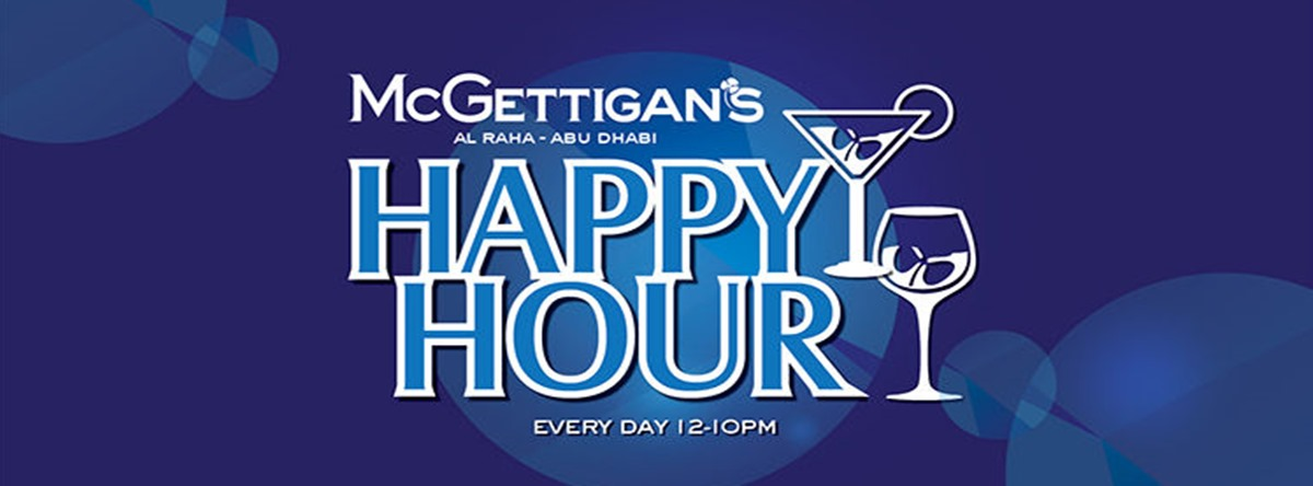 Happy Hour @ McGettigan's AUH
