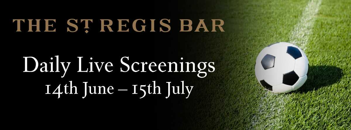 Football 2018 @ The St. Regis Bar.