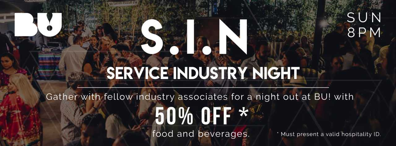 S.I.N INDUSTRY SUNDAYS @ BU!