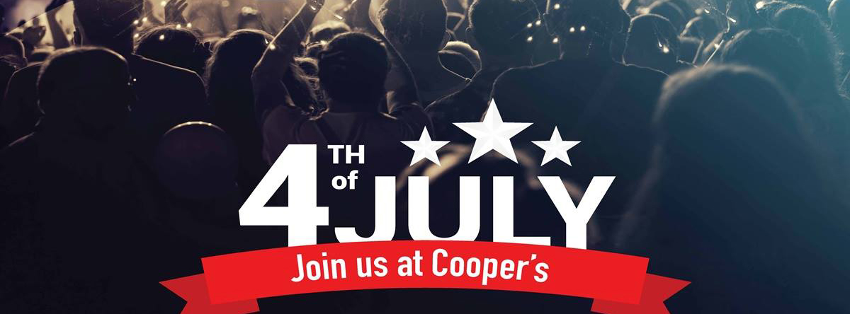 4th of July @ Coopers