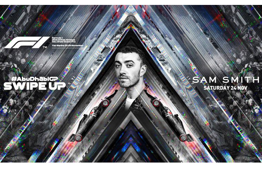 Sam Smith CONFIRMED for Yasalam