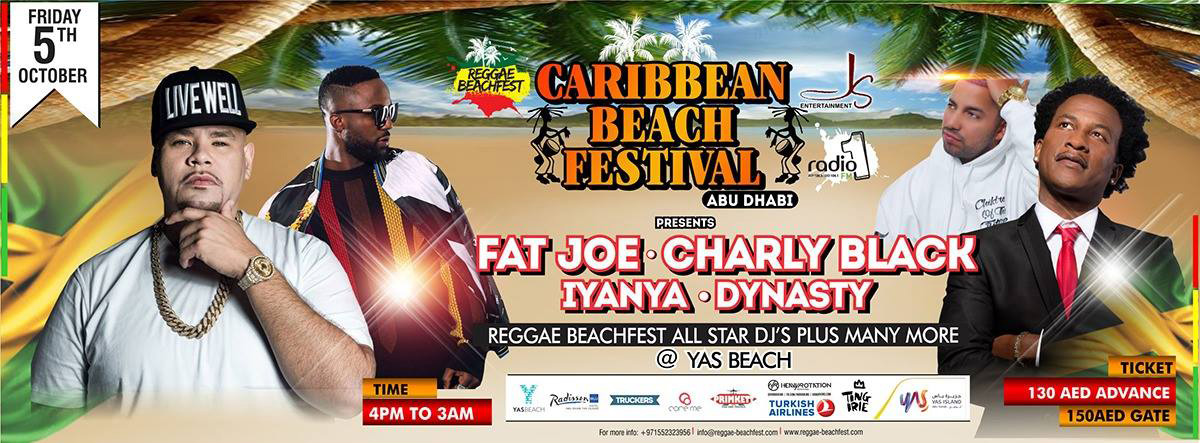 Fat Joe Caribbean Beach Festival @ Yas Beach