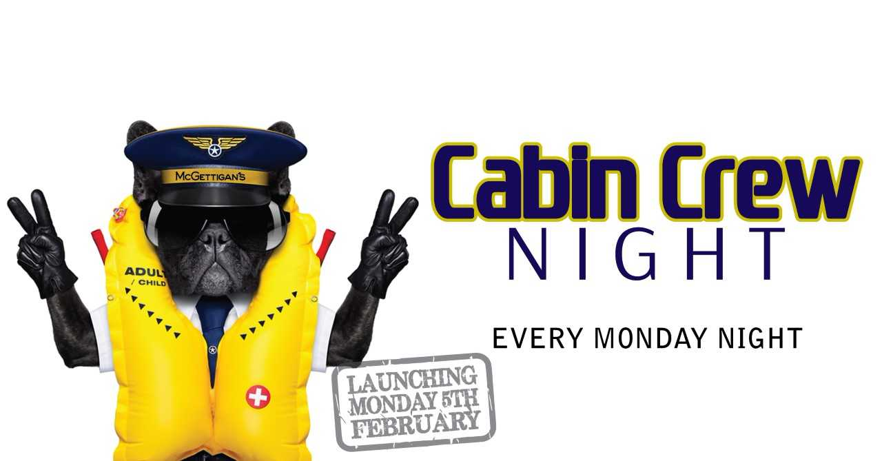 Cabin Crew Night @ McGettigan's