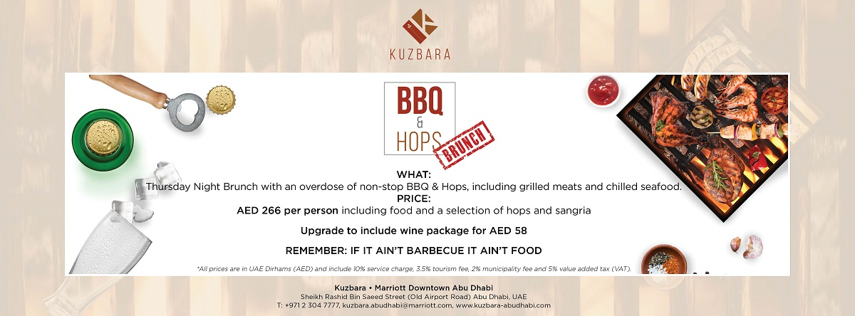BBQ & Hops Brunch @ Kuzbara