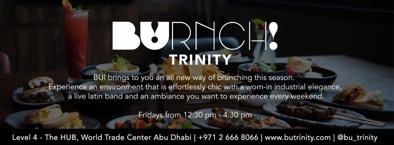 BUrnch!, Friday Brunch @ Bu!