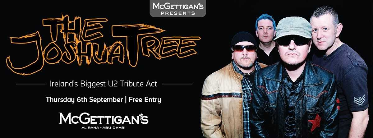 U2 tribute band The Joshua Tree @ McGettigan's Abu Dhabi