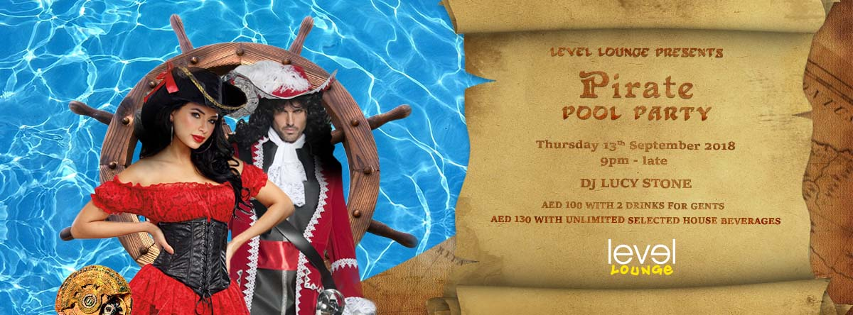Pirate Pool Party @ Level Lounge