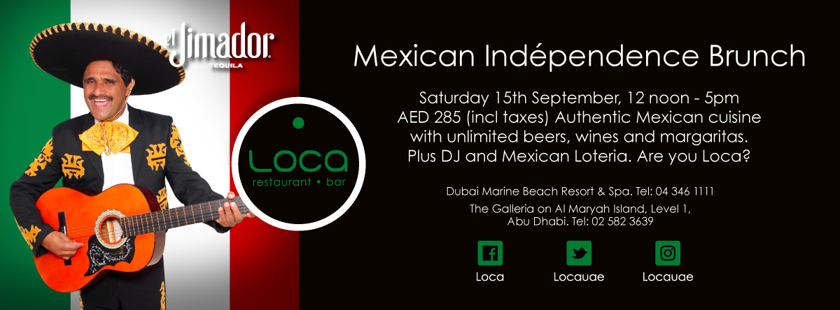 Mexican Independence Day Celebration @ Loca