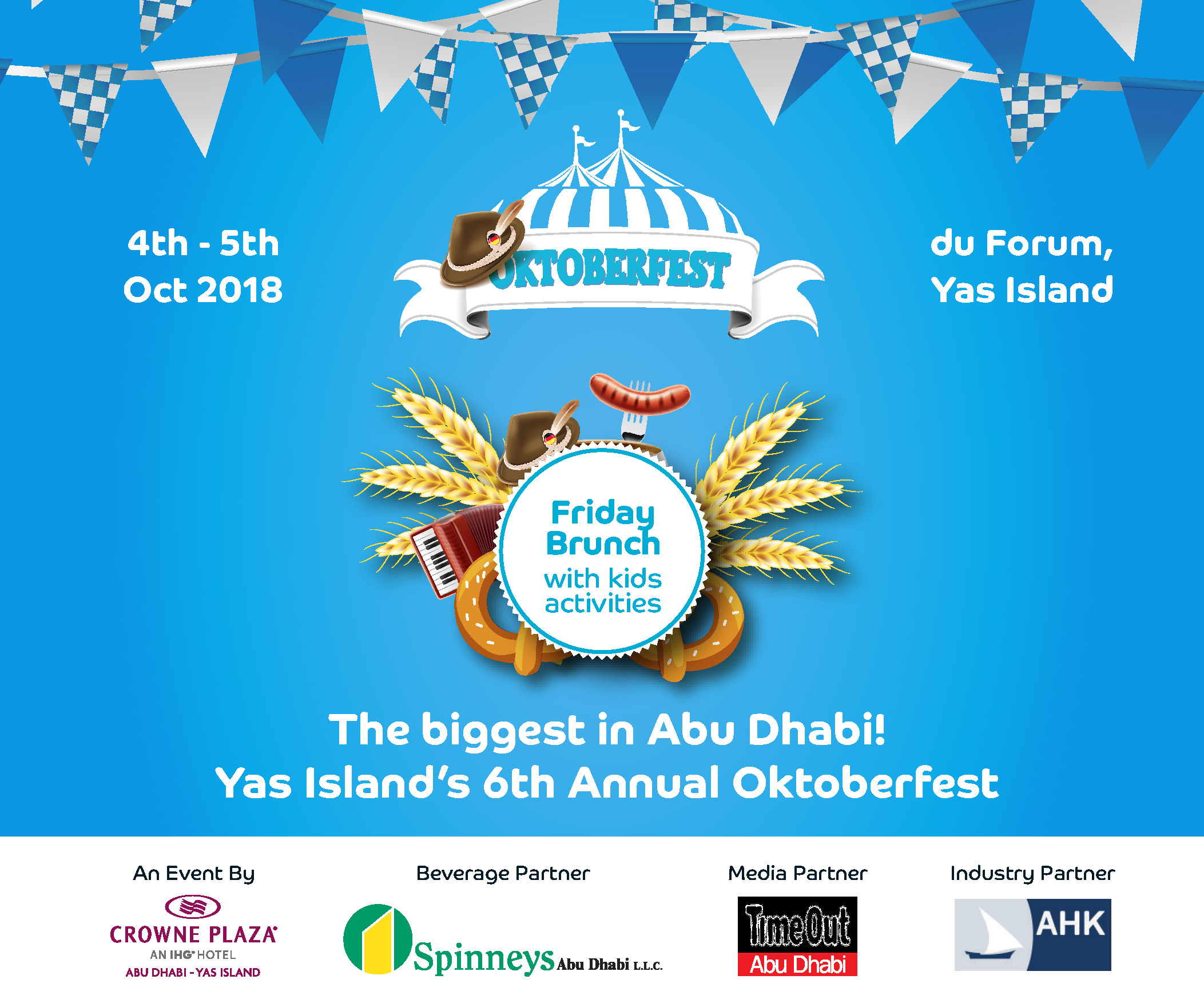 6th Annual Oktoberfest on Yas Island