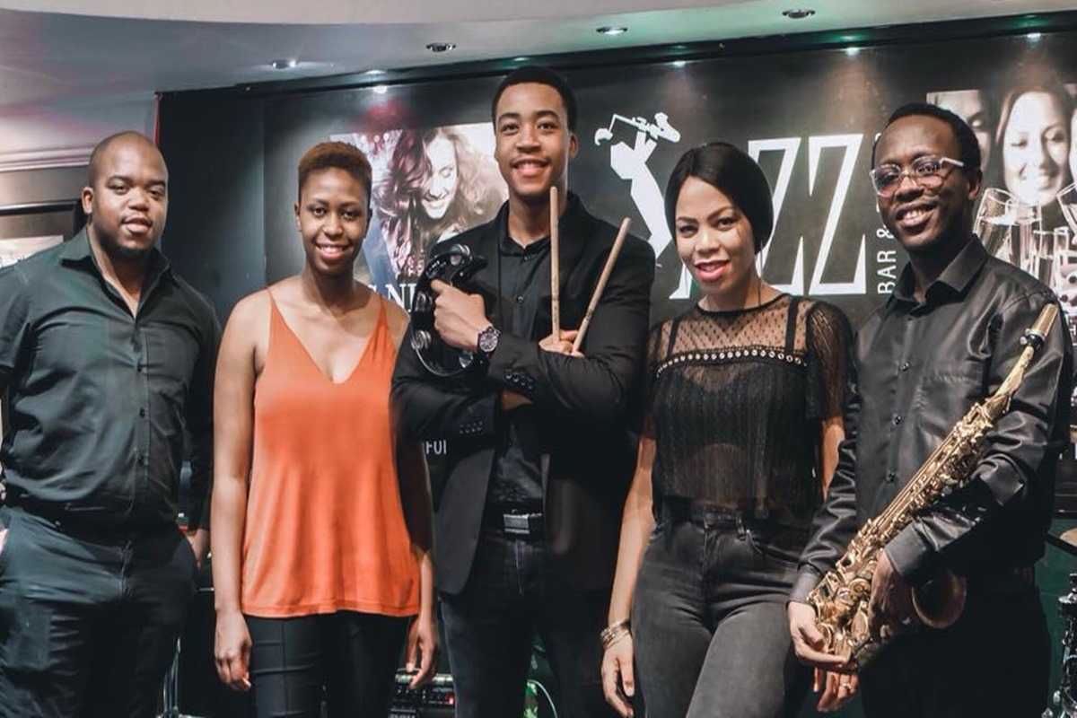 Jazz It Up with an all new band Blakk Velvet