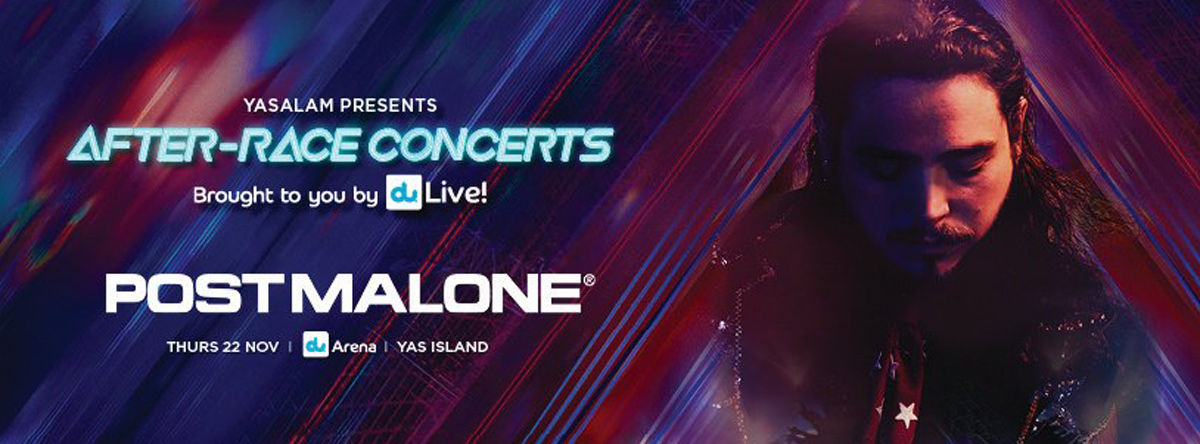 F1 2018 After Race Concert - Post Malone