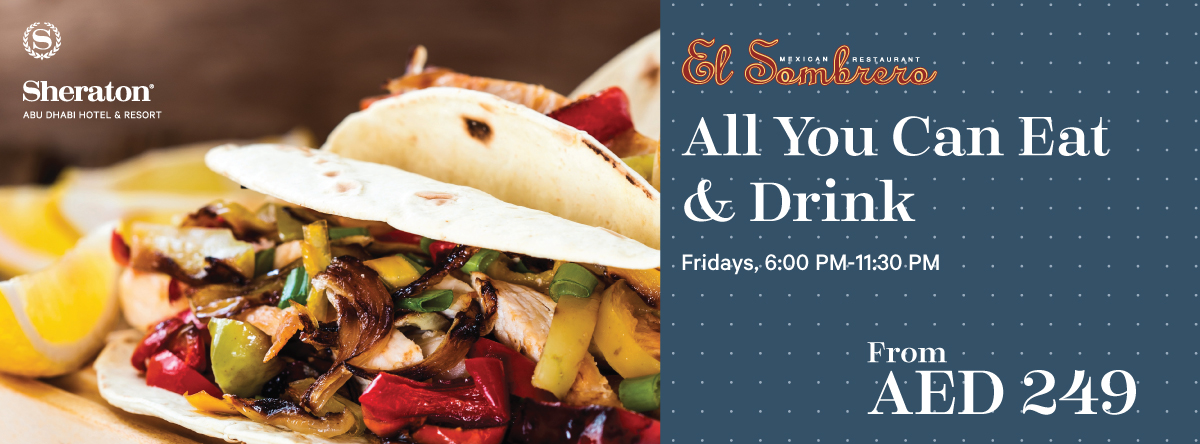 All You Can Eat and Drink @ EL SOMBRERO