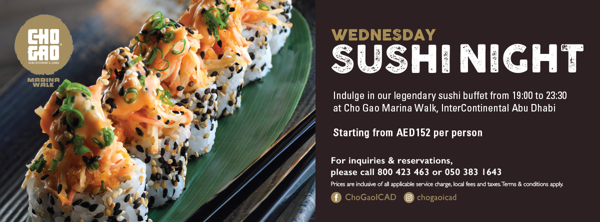 Wednesday Sushi Night @ Cho Gao Marina Walk