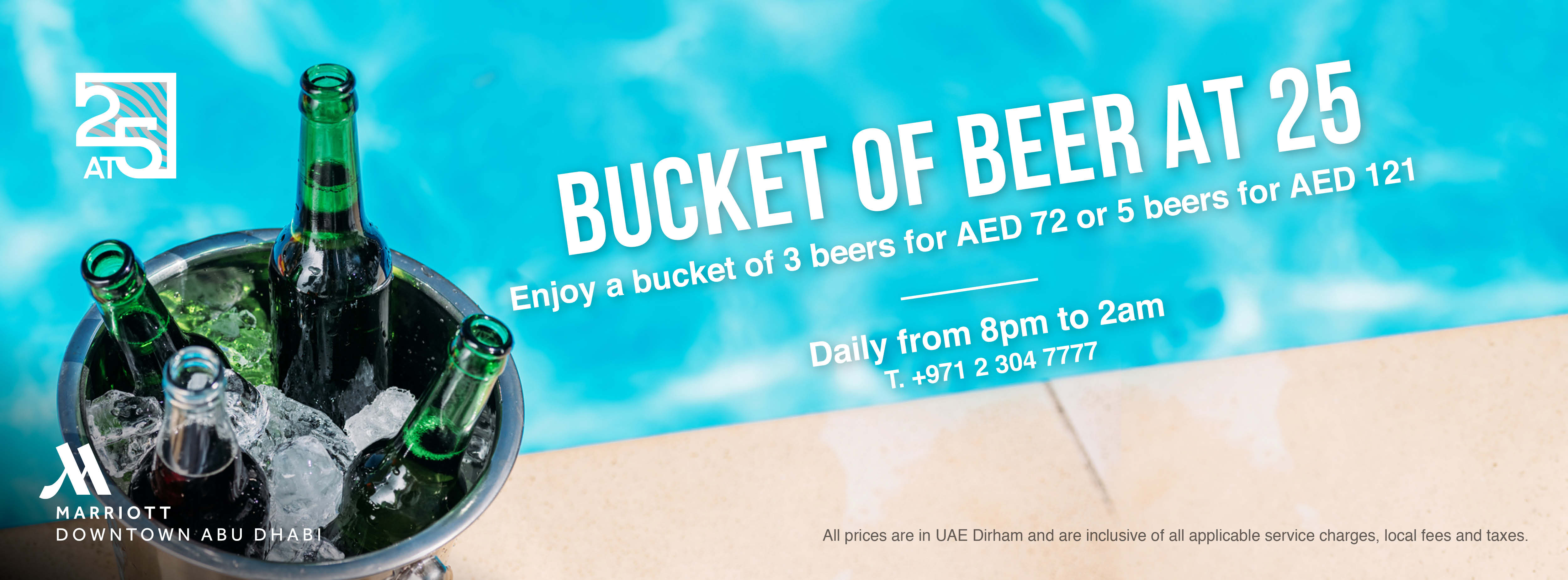 Bucket Of Beer -  At 25