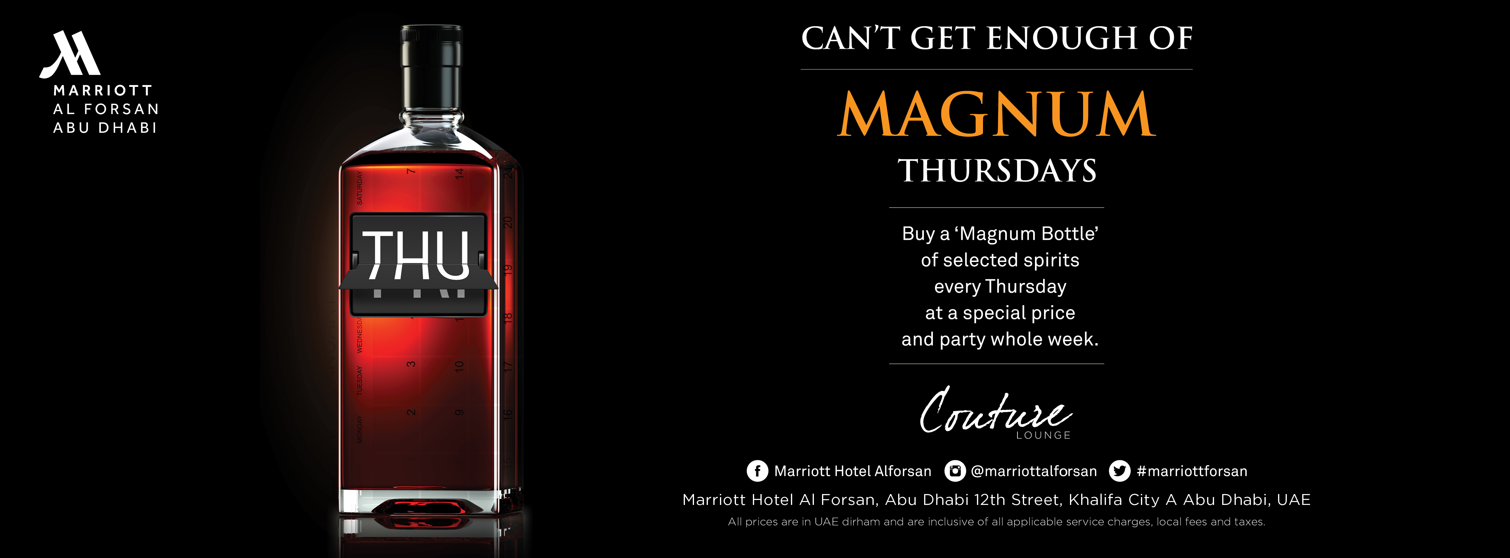 Magnum Thursdays @ Couture Lounge