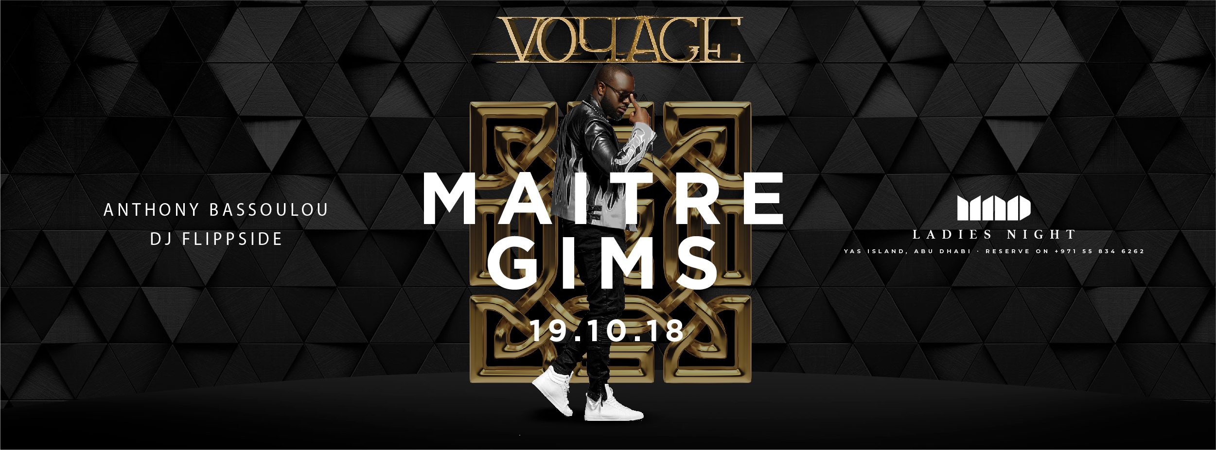 Maitre Gims @ Mad on Yas Island