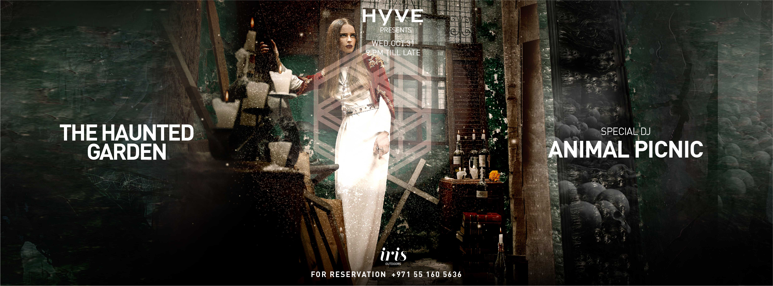 The Haunted Garden #HYVE @ Iris Yas