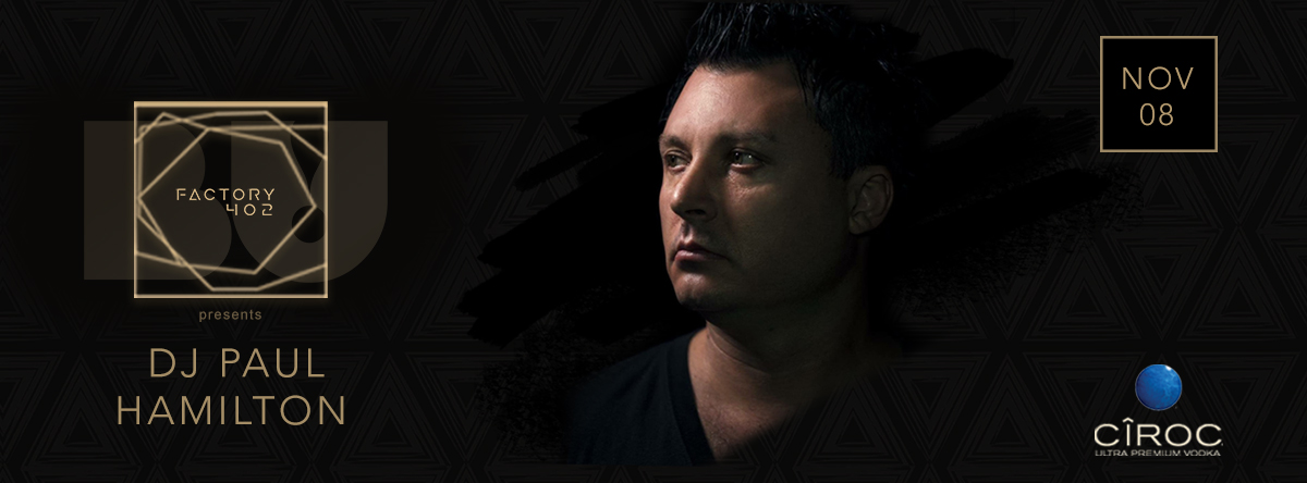 Paul Hamilton live at Factory402 - BU! Trinity