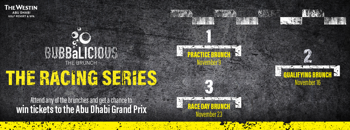 BUBBALICIOUS BRUNCH: THE RACING SERIES @ Westin