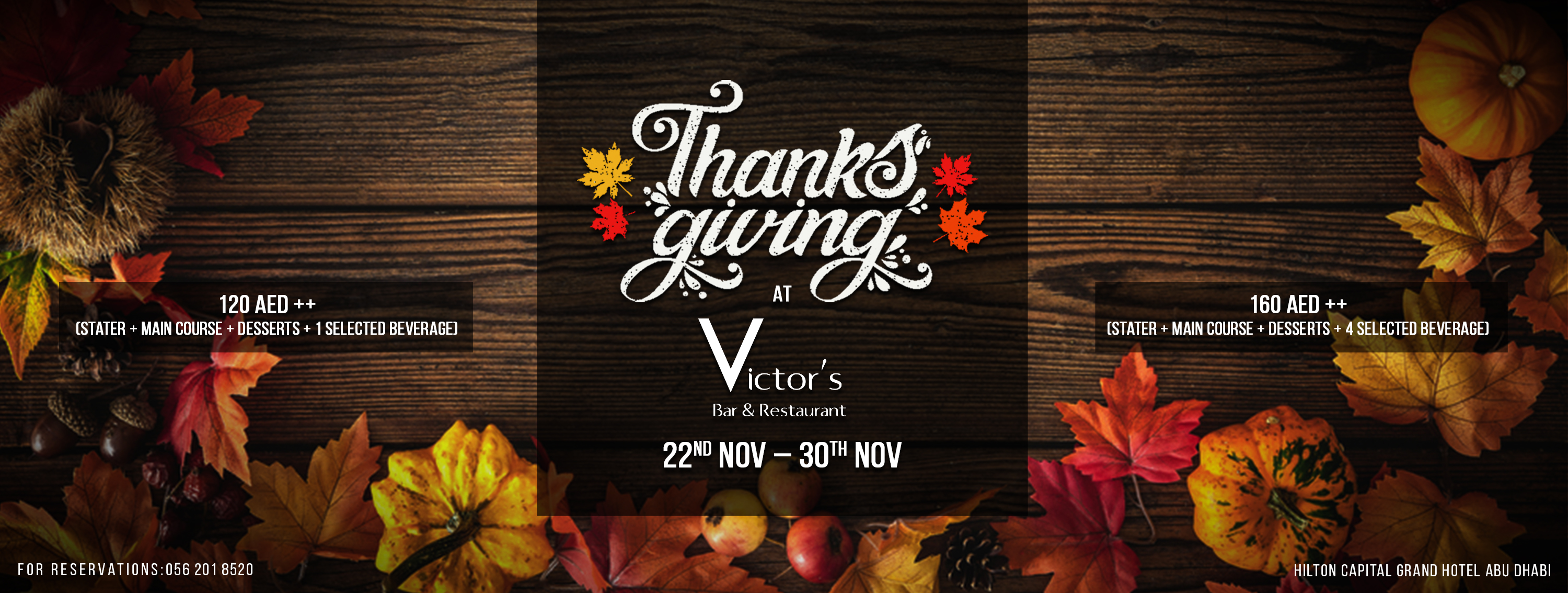 Thanksgiving @ Victor's