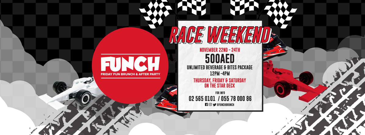 FUNCH F1 Race Weekend @ Stars n Bars