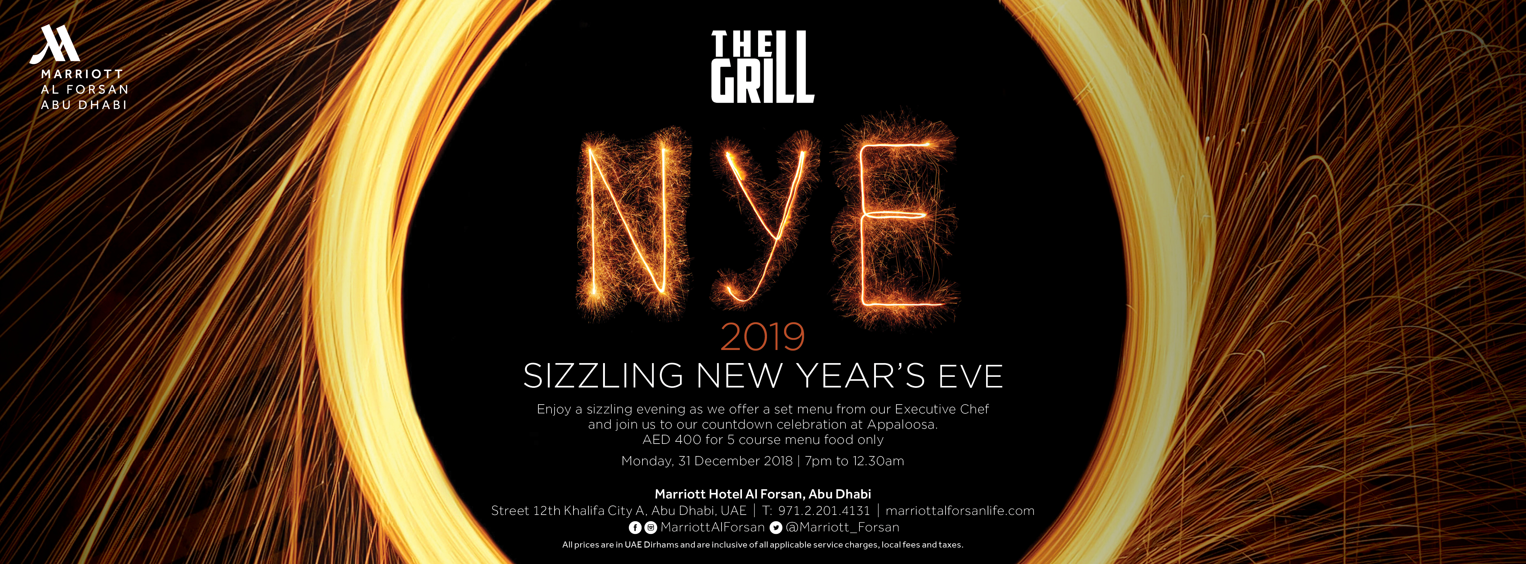NYE @ The Grill