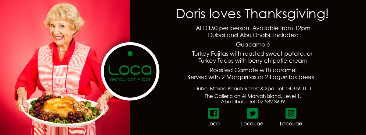 THANKSGIVING @ LOCA