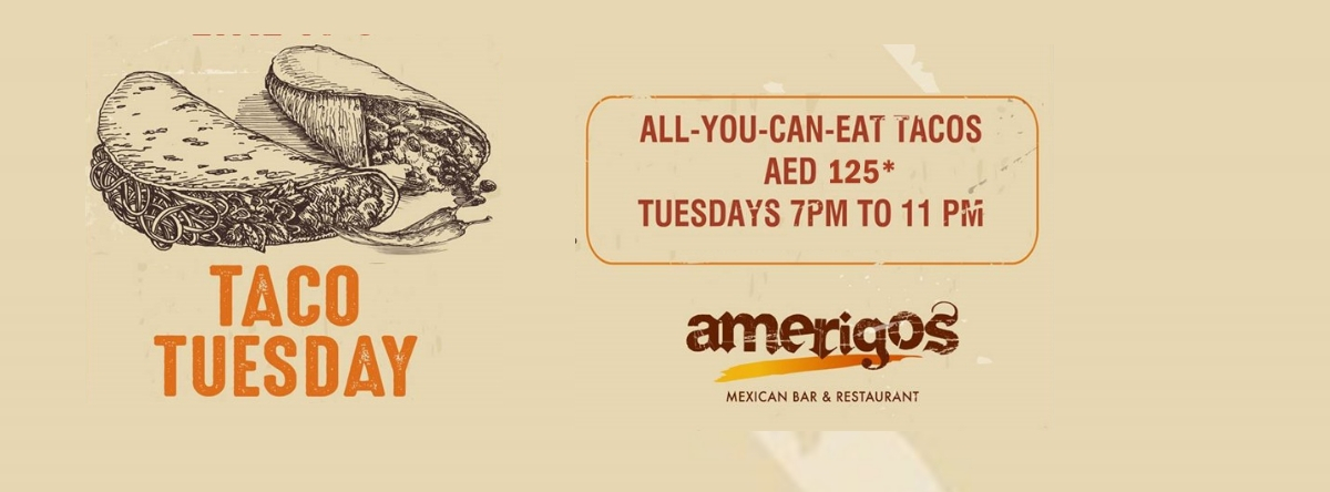 TACO TUESDAYS @ Amerigos
