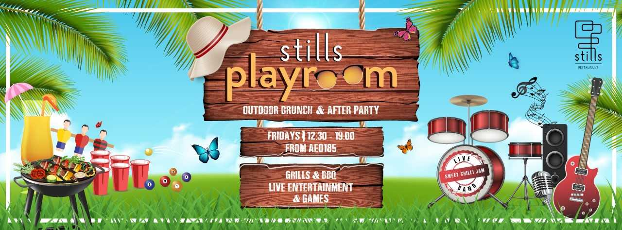 Stills Playroom Brunch & After Party