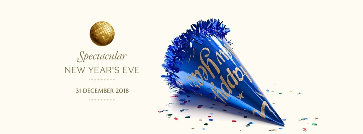 Spectacular New Year's Eve Dinner @ Beach Rotana