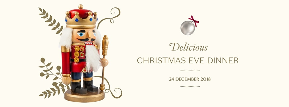 Christmas Eve Dinner @ Beach Rotana