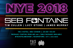 Seb Fontaine to perform New Year's Eve in Abu Dhabi.