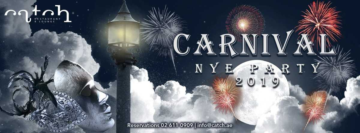 Carnival NYE Party @ Catch Restaurant & Lounge