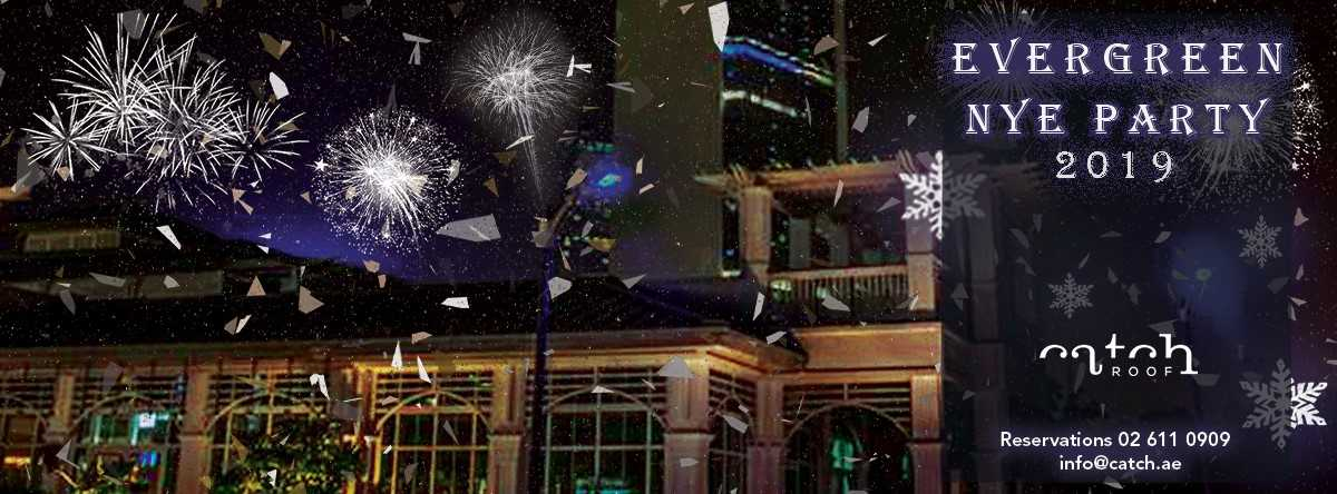 Evergreen NYE Party @ Catch Rooftop