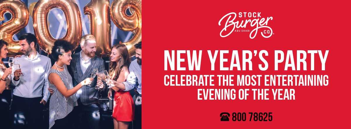 New Year's Eve Bash @ Stock Burger Co.
