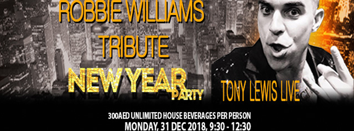 Robbie Williams Tribute NYE @ Viewz