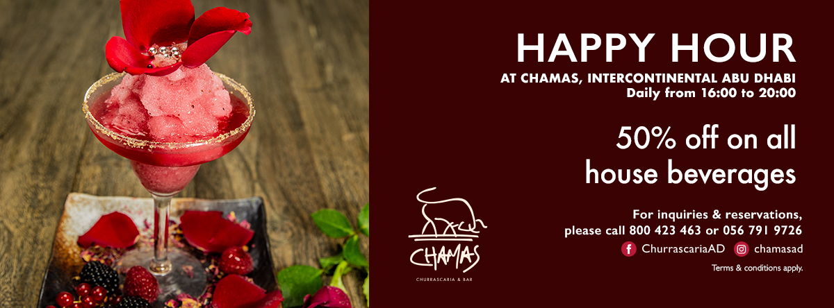 Chamas Happy Hour