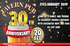 The Tavern turns thirty this January