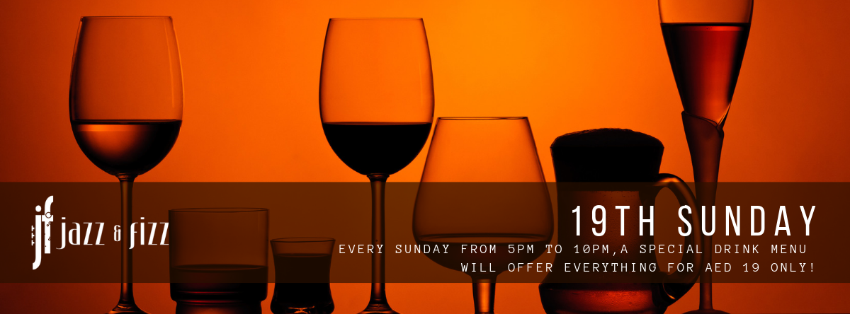 19th Sunday – Jazz & Fizz