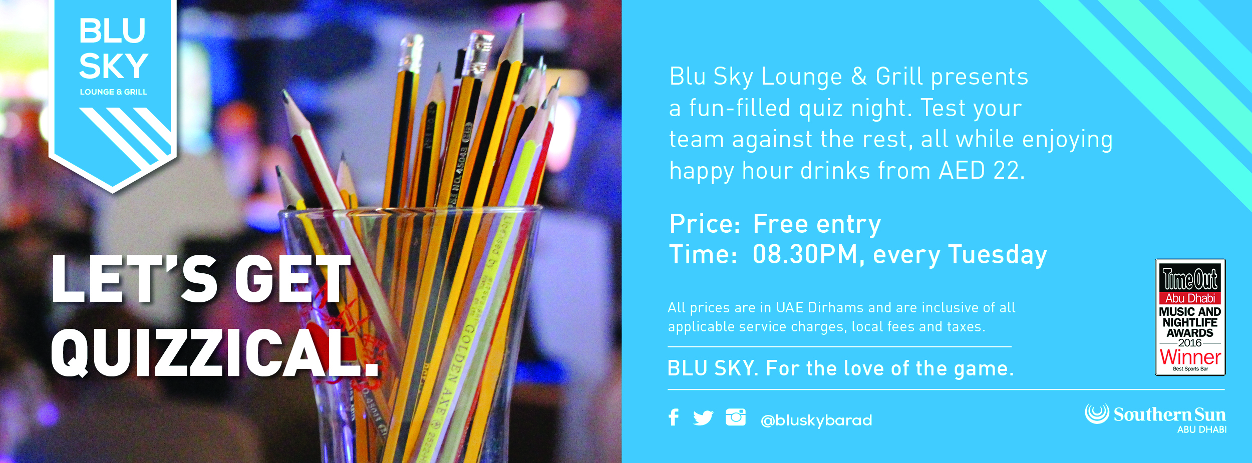 Quiz Night @ Blu Sky
