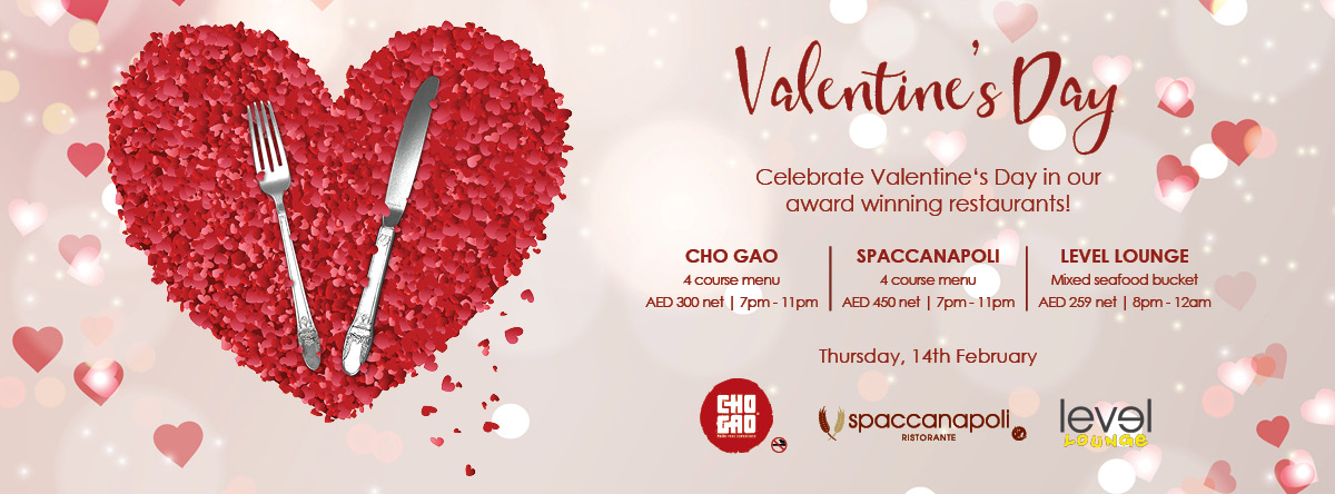 VALENTINE'S DAY @ Crowne Plaza
