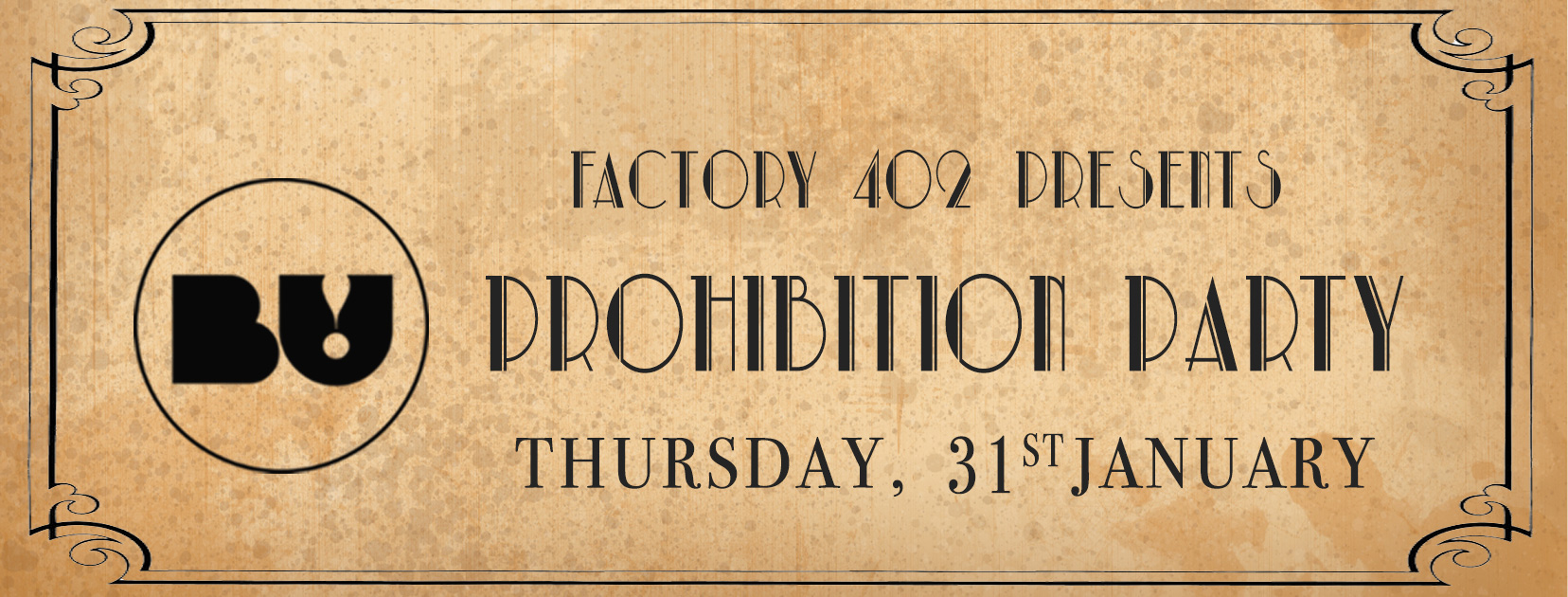 BU! Prohibition Party