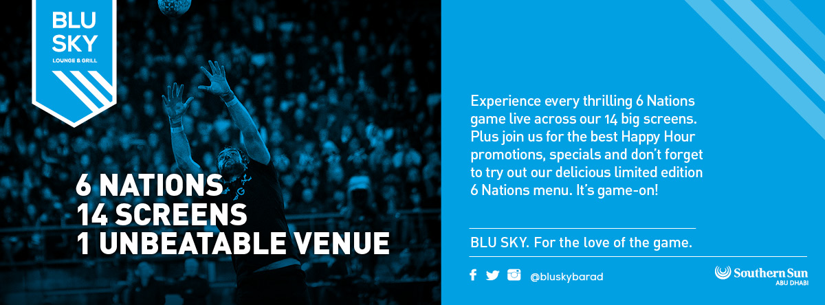 The 6 Nations @ Blu Sky
