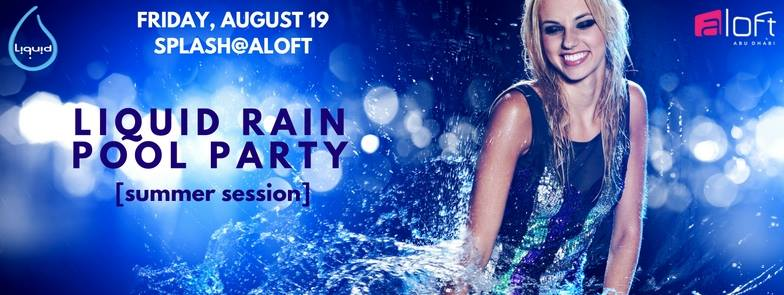 Liquid Rain Pool Party